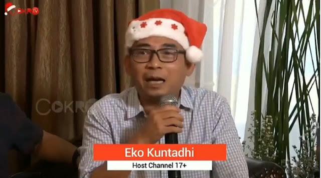 Eko Kuntadhi Sebut Jamaah Tabligh Penyebar Virus Corona