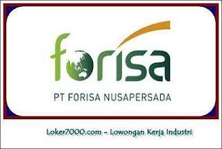 Lowongan Kerja Tangerang PT Forisa Nusapersada Terbaru 2019
