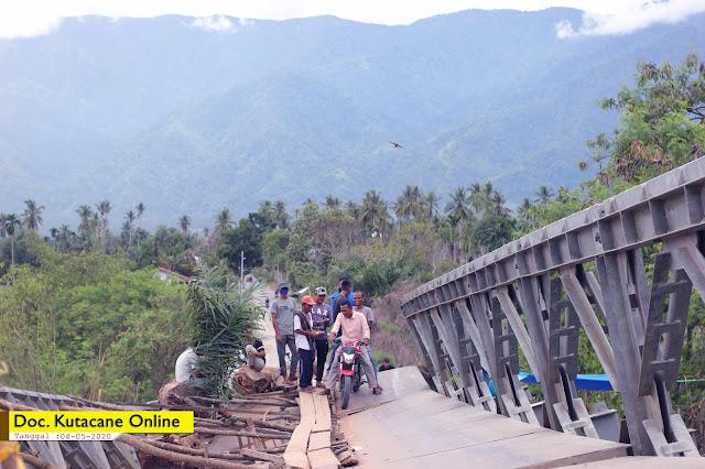 Photo : Kondisi Terkini Jembatan Pante Dona - Kabupaten Aceh Tenggara ( 04/05/2020 )