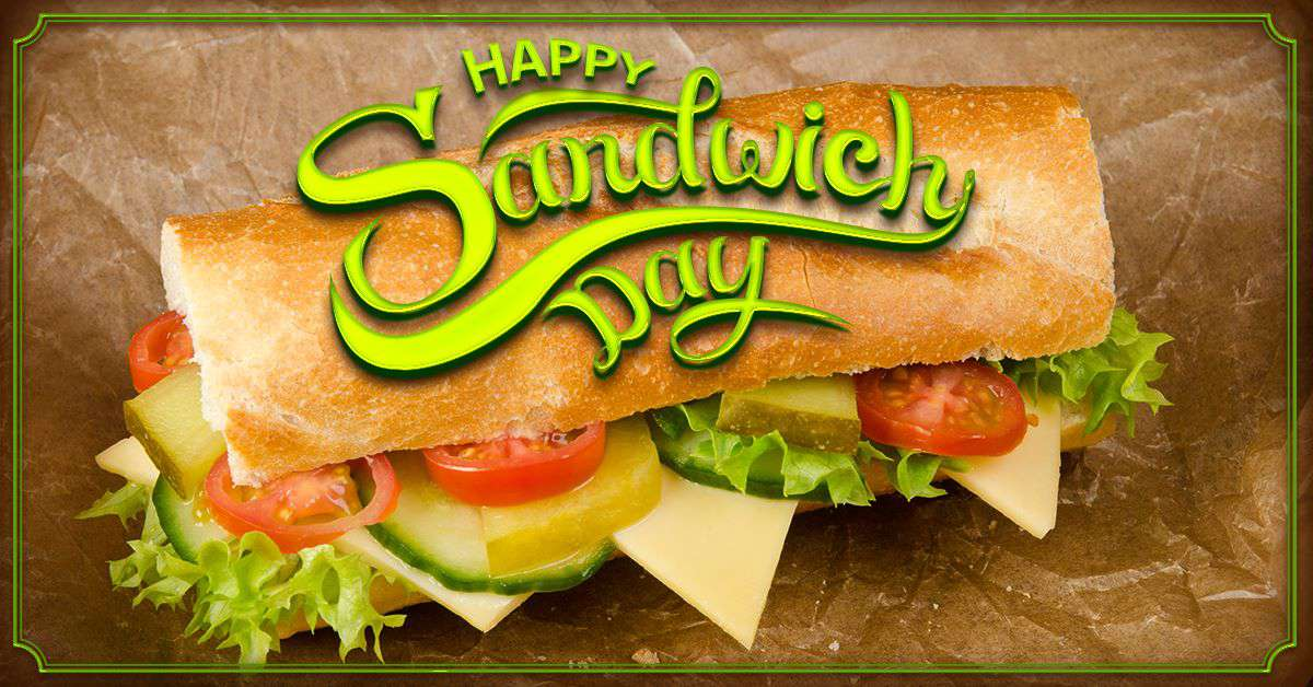 National Sandwich Day Wishes Sweet Images