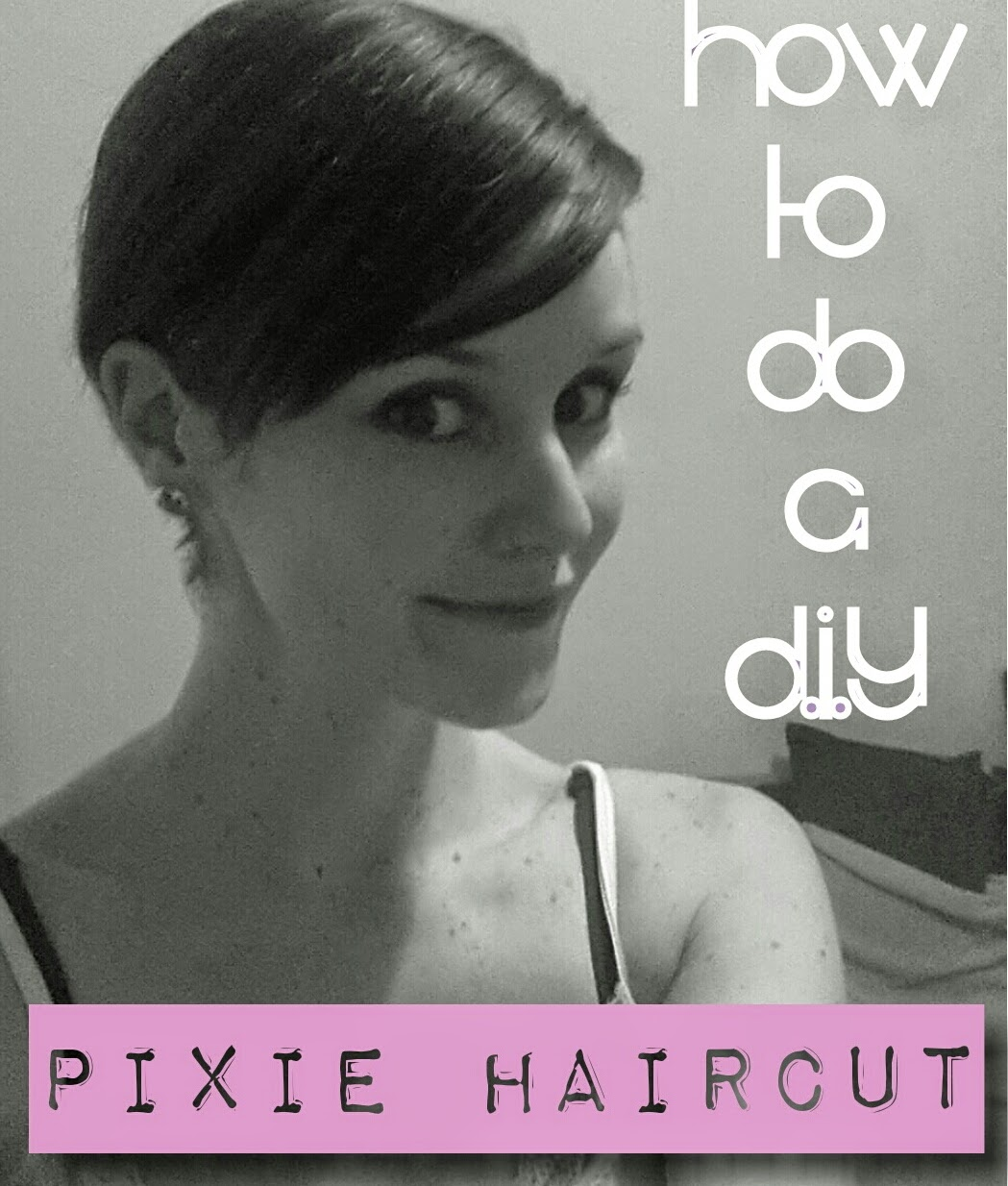 How To Cut Pixie Haircut Yourself