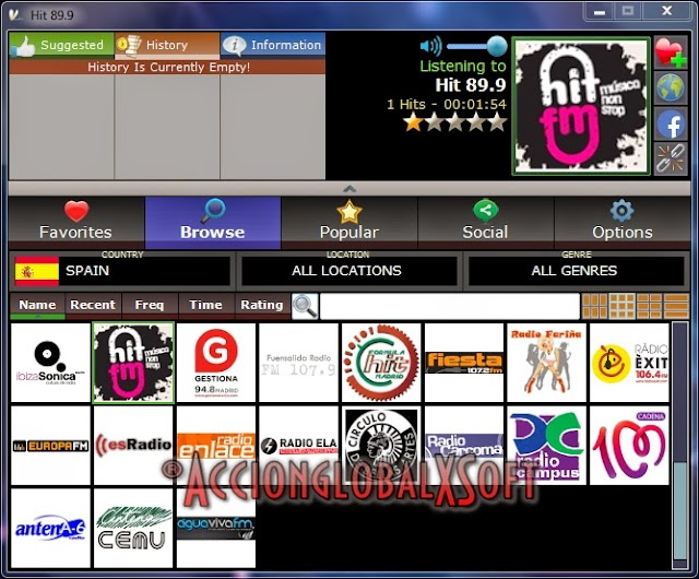 V-Radio 2.7.2 Portable | Reproductor de radios de internet