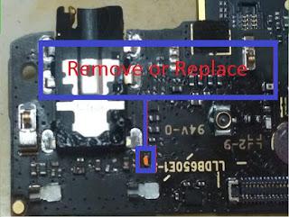 Redmi Note 5 Pro Profil Headset atau Logo Headset Setelah colok ke Speaker Aktif