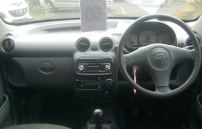 Interior Hyundai Atoz Facelift