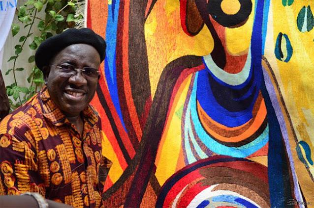 Kalidou Kassé - artiste platsicien sénégalais, le pinceau du Sahel : Art, Artiste, artisanat, peinture, sculpture, plastique, Kalidou, Kassé, culture, tourisme, LEUKSENEGAL, Dakar, Sénégal, Afrique