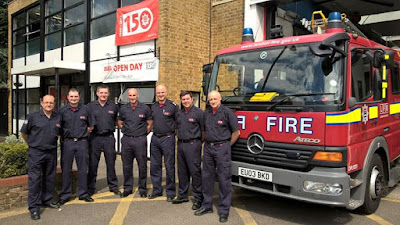 SOUTHGATE FIRE STATION LFB150 OPEN DAY