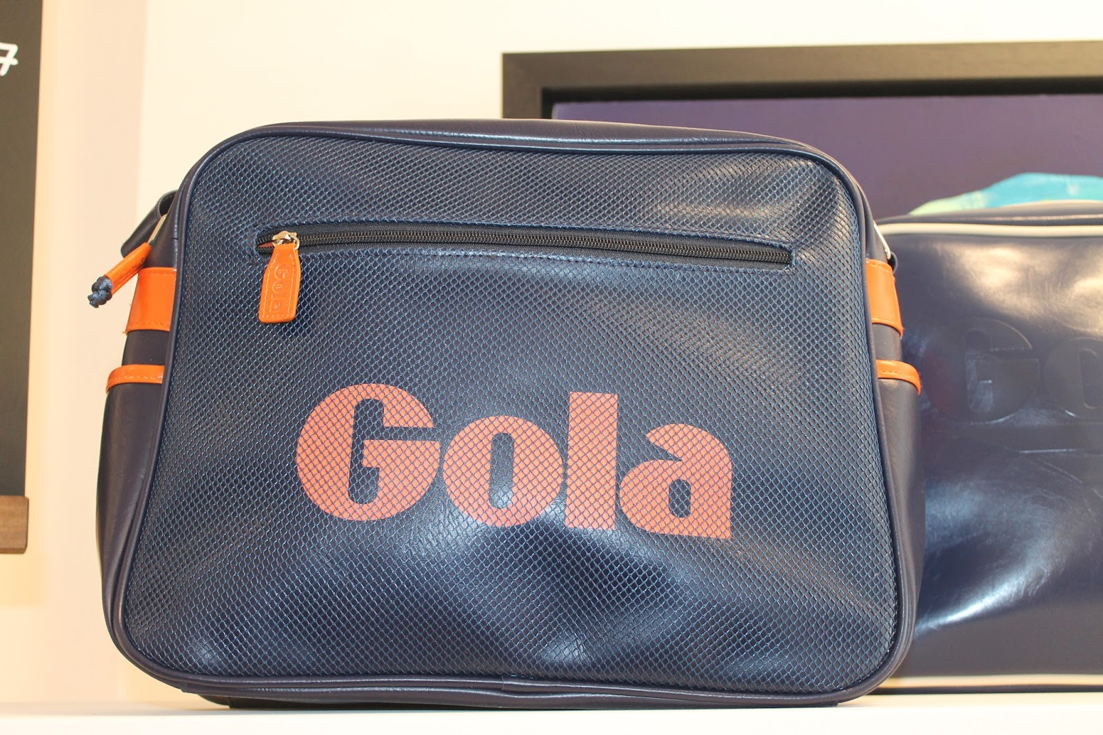 26211992ab  In Store  A messenger bag is ideal to carry all your essentials while  attending school. This Gola Classic Redford bag has got a retro vibe and a  ...