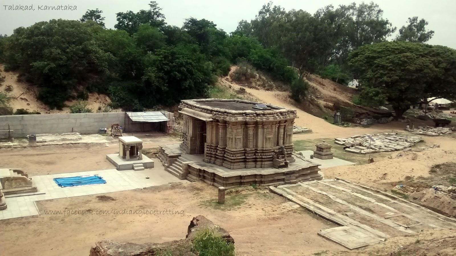 Mahadwara of Kirtinarayana temple in talakad
