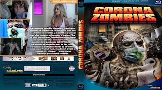 CARATULA CORONA ZOMBIES 2020[COVER BLU-RAY]