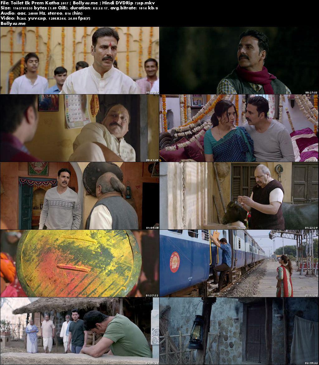 Toilet Ek Prem Katha 2017 DVDRip 450Mb Full Hindi Movie Download 480p