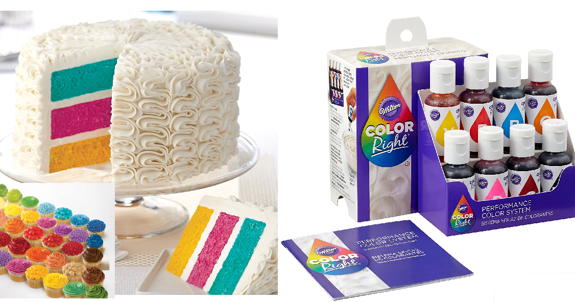 Wilton Color Right Performance Food Coloring Set 11 73