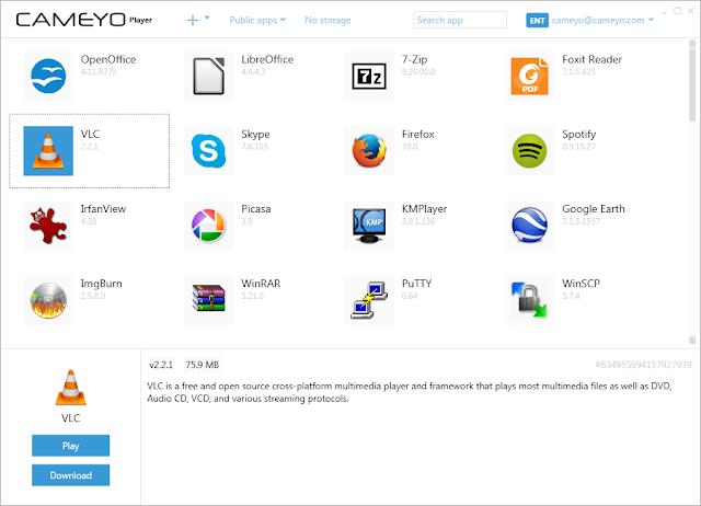 Screenshot Cameyo Pro 3.1.1530 Full Version