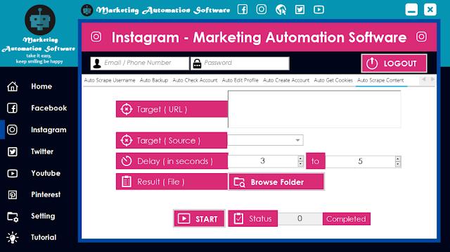 Cara Cepat Mengambil Konten Postingan Instagram Secara Automatis