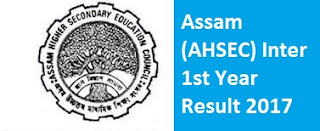 Assam Inter 1st Year Result