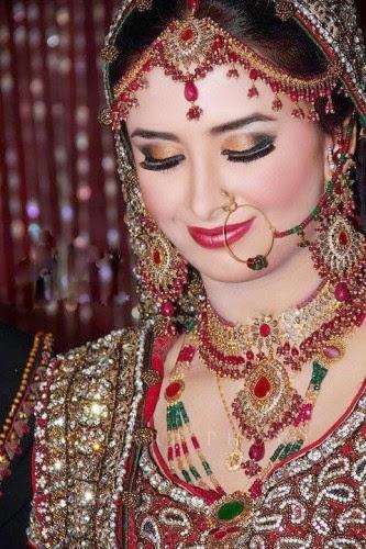Bridal makeup by sofia adnan