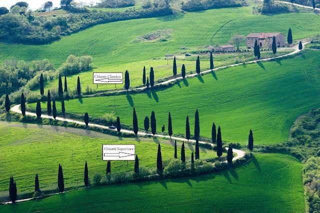 Je libo Chianti Classico nebo Superiore?
