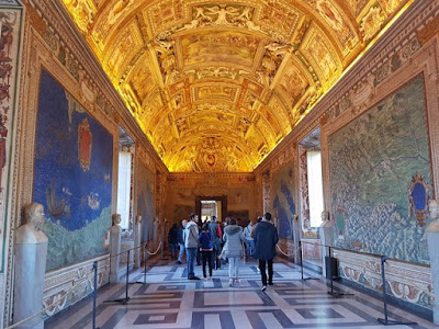Sala de los Mapas en el Vaticano