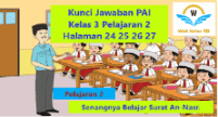Kunci Jawaban PAI Kelas 3 Pelajaran 2 halaman 24 25 26 27
