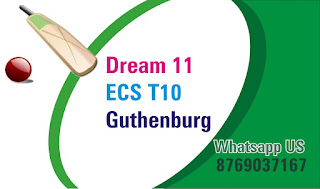 Today match prediction ball by ball ECS T10 Gothernburg Almhut CC vs Linkoping CC 16 July 100% sure Tips✓Who will win Almhult vs Linkoping Match astrology