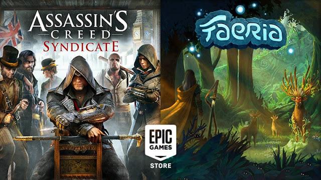 Assassin's Creed Syndicate dan Faeria Gratis di Epic Games Store