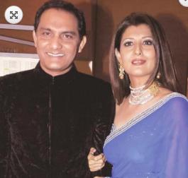 sangeeta bijlani with Mohammad Azizuddin
