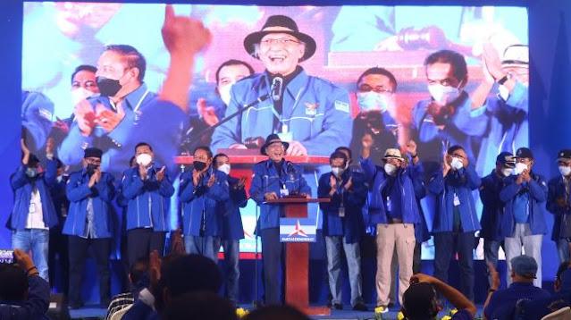KLB Demokrat Diketok, Jansen PD: Sekarang Semua di Tangan Jokowi