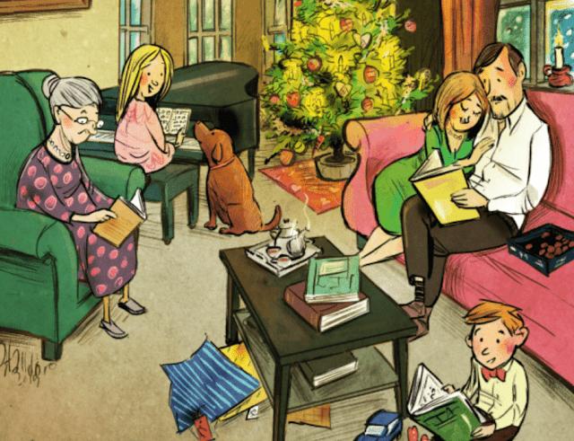 Jólabókaflóð, la tradición islandesa de regalar libros en Nochebuena