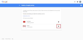 Delete-gmail-account