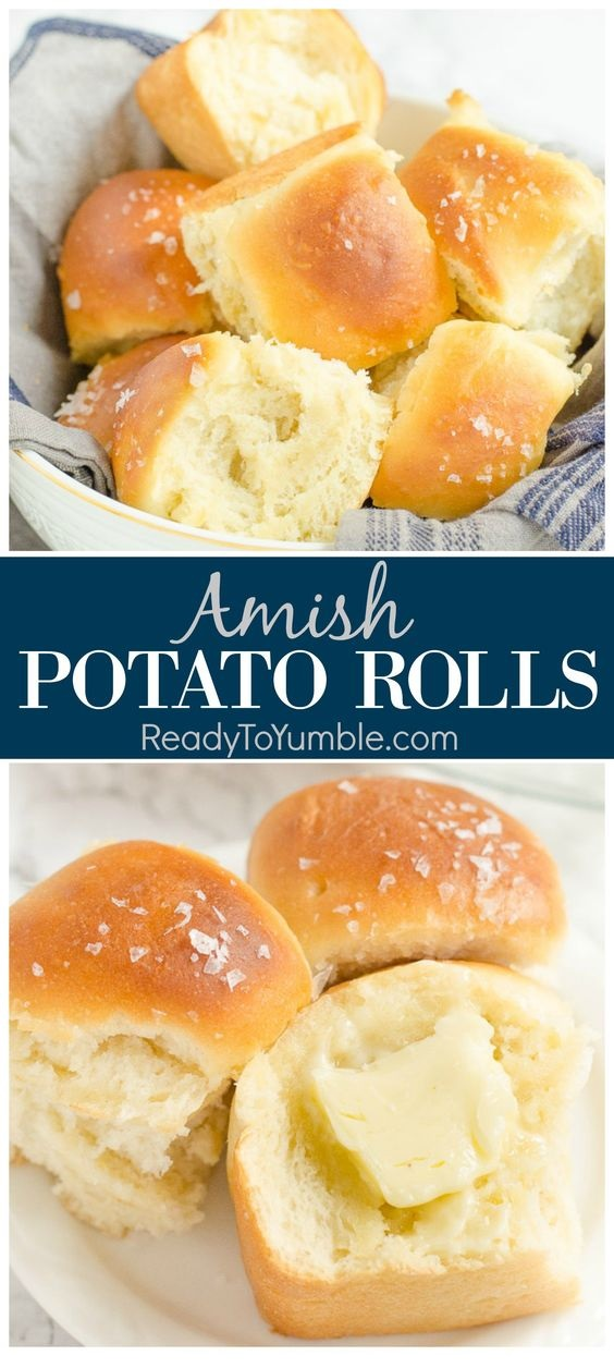 Amish Potato Rolls (Make-Ahead Recipe)