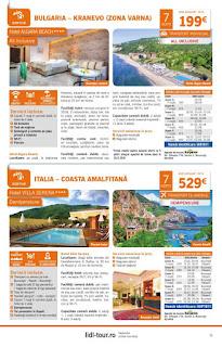 CATALOGUL LIDL TOUR REVELION 2019 Sejur la plaja Bulgaria 2019