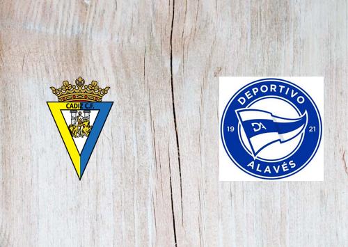 Cádiz vs Deportivo Alavés -Highlights 10 January 2021