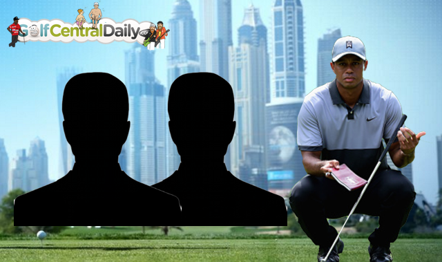 Tiger Woods 2017 Dubai Desert Classic