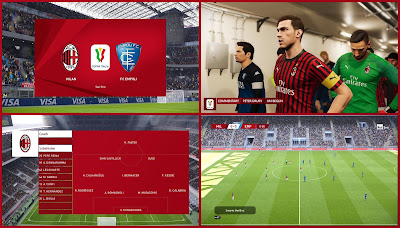 PES 2020 Scoreboard Coppa Italia by Unknown32