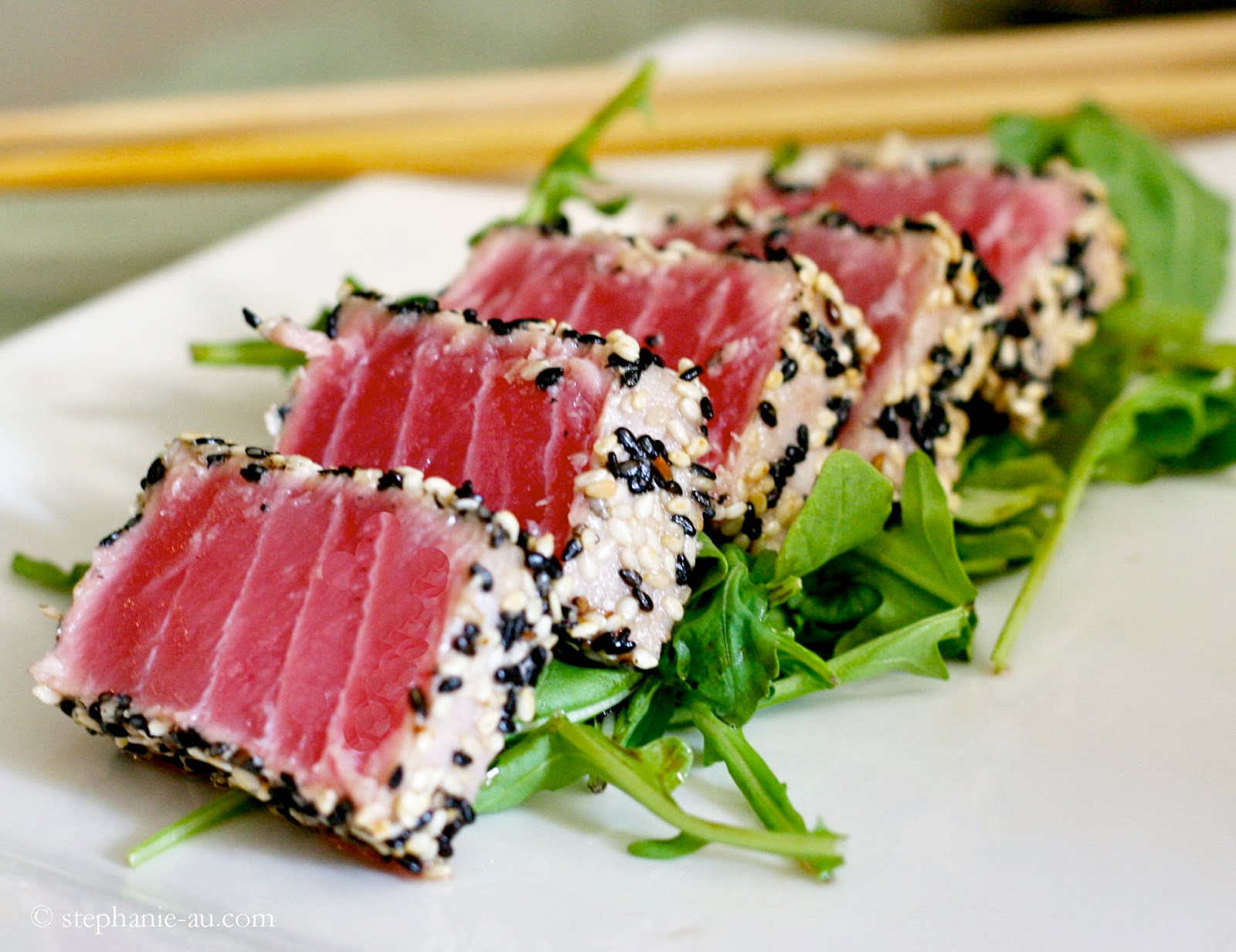 Crusted Seared Tuna Recipe