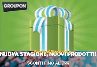 Logo Nuova stagione, nuovi prodotti scontati fino al 75%