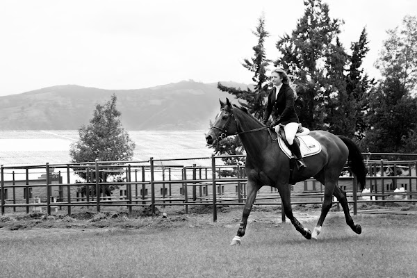 La satisfacción del triunfo; una vida dedicada a la equitación