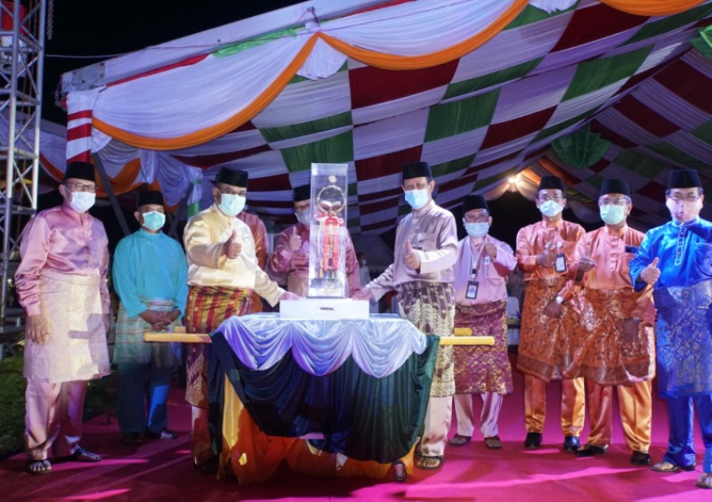 Danlantamal IV Beserta Ketua Korcab IV DJA I Hadiri Penutupan MTQ VIII Provinsi Kepri