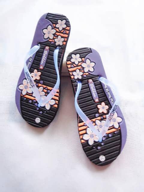 Pabrik Sandal Karet Bunga Simplek Murah | Harga Langsung Dari Pabrik