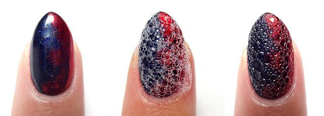 Bubble Scale Nails