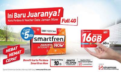 Promo Kartu Perdana Smartfren Now Dan Now Plus