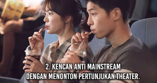 Kencan Anti Mainstream Dengan Menonton Pertunjukan Theater.
