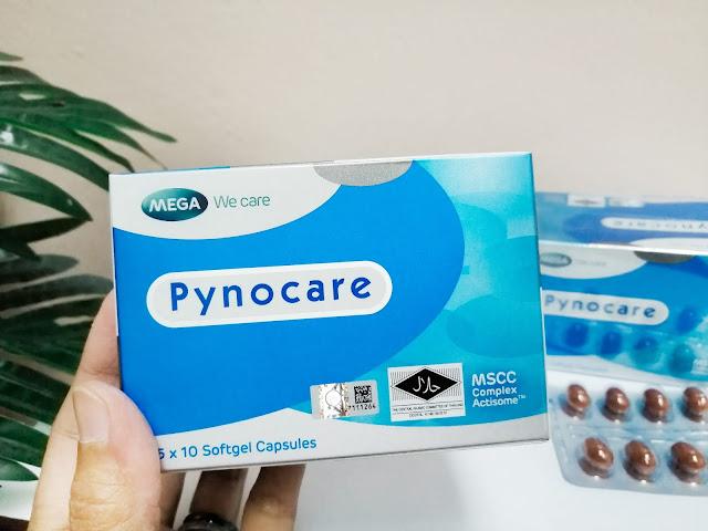 Pynocare Supplement Untuk Kembalikan Tona Kulit Yang Sekata Dari Dalam