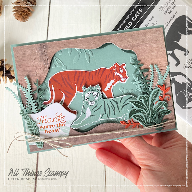 Stampin Up In The Wild Suite card ideas