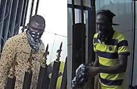 Photos of Offa Banks robbers