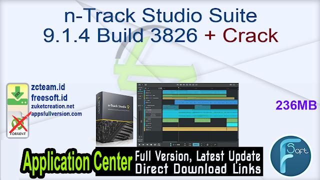 n-Track Studio Suite 9.1.4 Build 3826 + Crack_ ZcTeam.id