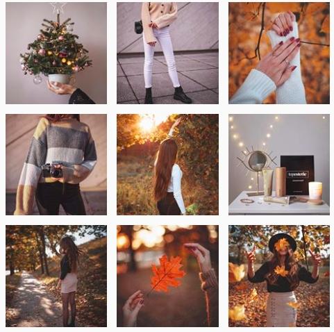 instagram z kreatynwymi zdjęciami