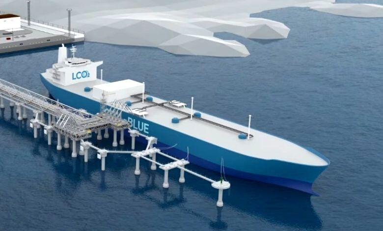 Mitsubishi quer desenvolver navio transportador de CO2 liquefeito