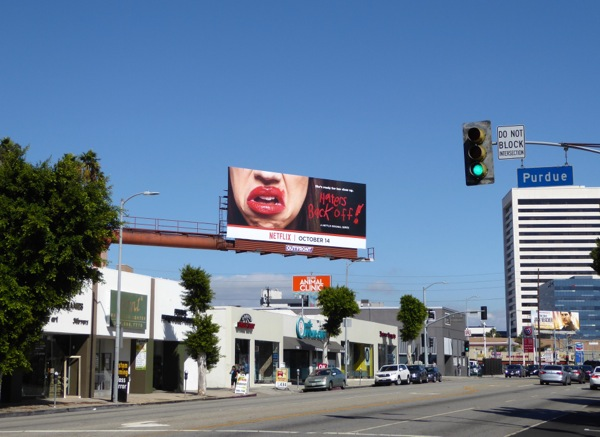Haters Back Off TV series billboard