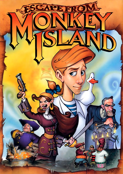 Poster Escape from Monkey Island