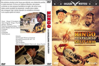 Filme Ringo - O Cavaleiro Solitário (Ringo The Lone Rider) DVD Capa